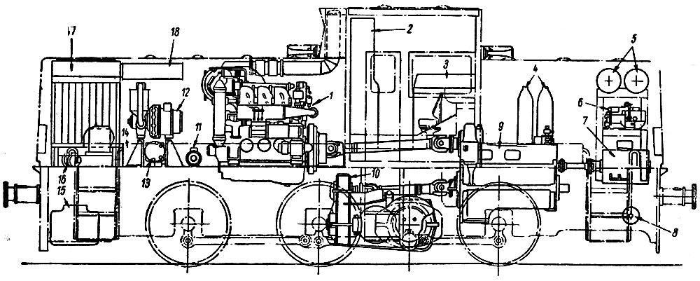 6 - компрессор;