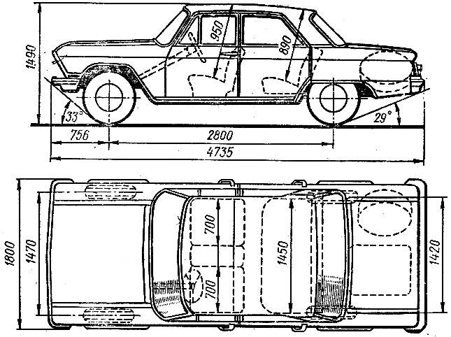 Автомобиль 'Волга' ГАЗ-24