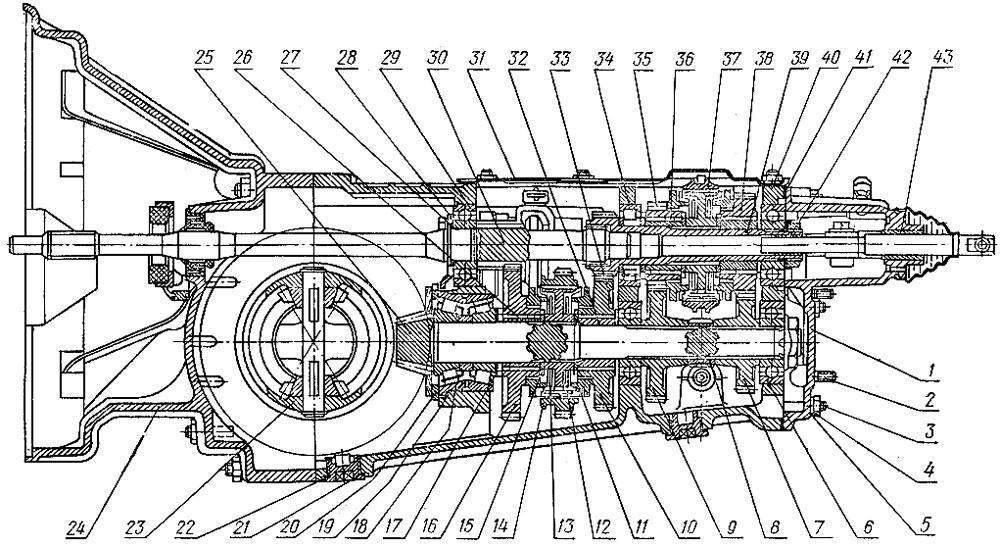 ЗАЗ-968: 1 - задняя крышка