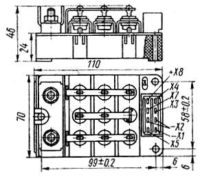 Рис. 34. Внешний вид блока БПВ 14-10