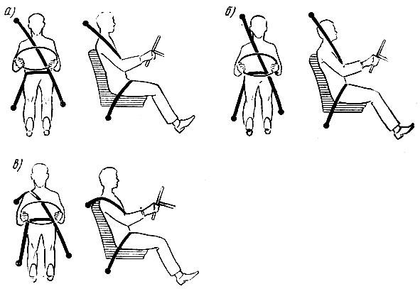Схемы, установки сиденья и