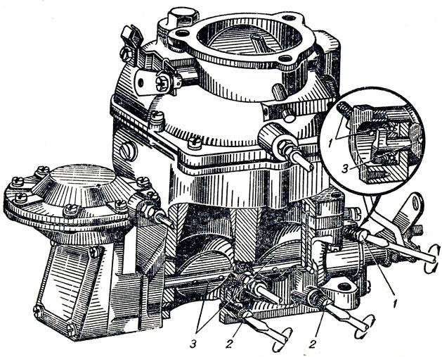 Регулировка карбюратора К-88А