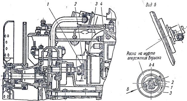 Схема установки топливного
