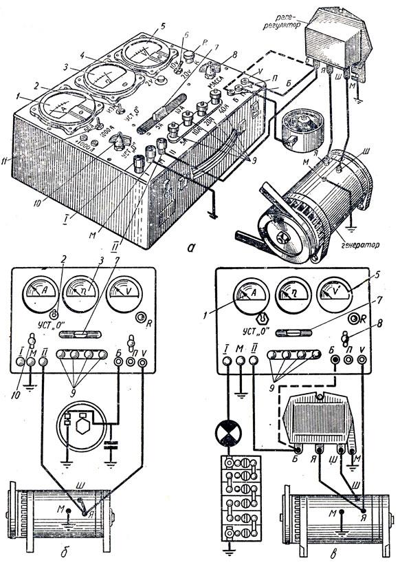 ЛЭ-1 и схемы контроля с