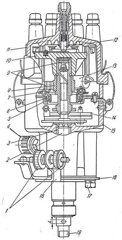 Распределитель Р4-В двигателя